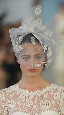 """Birdcage Veil/""""The coolest wedding accessories you've never seen before """"/ Photo: MCV Photo / The Knot"""
