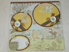 classic winnie the pooh Scrapbook Page Layouts | Disney+Classic+Winnie+the+Pooh+New+Baby+by+kariskraftkorner3301,+$9.99