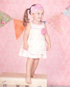 Love this Giggle Moon Simply Beautiful Tillie Apron Dress! Perfect for this summer season! Apron Dress, Dress P, Toddler Outfits, Girl Outfits, Lace Romper, Baby Girl Fashion, My Princess, Perfect Photo, Trendy Baby