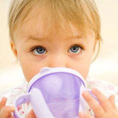 """If Baby scrunches up her nose at the taste of whole milk, try mixing in a little breast milk or formula to help with the new flavor. """"If you are really desperate, you can add a teaspoon of Carnation Instant Breakfast,"""" says Ari Brown, M.D., author of Baby 411 and Toddler 411. """"But I discourage parents from going down this road, as they will end up creating a demanding child who only wants it that way."""""""