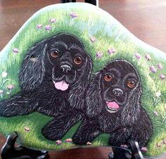 Custom Portrait dog Pet portrait Custom Pet by RockArtiste