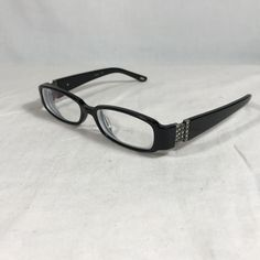 e2ce53700eb29 Carmen Marc Valvo Viviana Noche Black Women Eyeglasses 50-15-132 for sale  online
