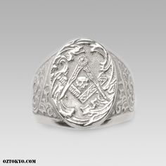 f3380c03733e5 Mason | Rings by Oz Abstract Tokyo | Online Boutique Oz Abstract Tokyo,  Japan Freemason