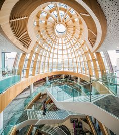 Austin-Smith:Lord {Architect} - Liverpool Library, England   via Nomadic Vision Travel Photography