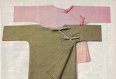 baby kimono #sewing #pattern  #newborn  #100idees