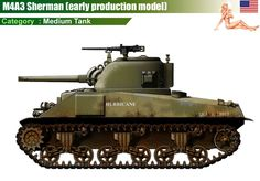 M4A3 Sherman (early production model)