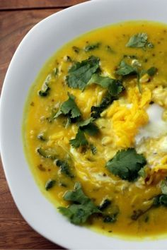 Red Lentil Soup with Lime
