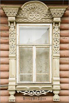 Window frames of Myshkin town ~ Russia by Ivan Hafizov.