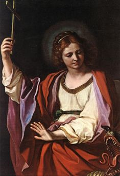 St Marguerite by GUERCINO #art