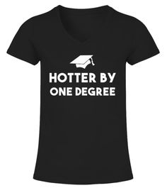 Inktastic Now Hotter By One Degree Graduation Gift T-Shirt Graduate 2017 Twenty