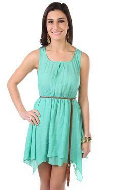 Combinaciones vestido verde menta