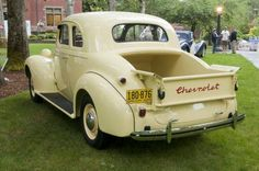1937 Chevrolet Coupe #ClassicCars #CTins #Chevy