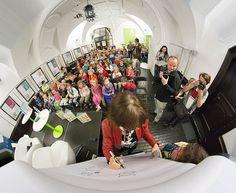 Miłosz Festival 2015 - A meeting with the popular German illustrator and children's book author - pic. Adam Walanus #miloszfestival