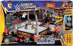 Survivor Series Deluxe Ring Set 21041 WWE StackDown The Bridge Direct  Survivor Series Deluxe Ring Set 21041 WWE StackDown The Bridge Direct SURVIVOR SERIES DELUXE RING (W/ RYBACK, JOHN CENA, BROCK LESNAR, JERRY LAWLER & WADE BARRETT) - WWE STACKDOWN UNIVERSE TOY WRESTLING ACTION FIGURE PLAYSET BY BRIDGE DIRECT  http://www.newactionfigures.com/2015/12/23/survivor-series-deluxe-ring-set-21041-wwe-stackdown-the-bridge-direct/