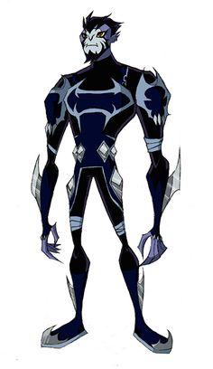 Negative Rook Blonko. Albedo's (Negative Ben 10) partner.