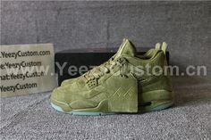 353049c2a1a555 US  180.00 Authentic Air Jordan 4 Retro Kaws X Green Jordan 4