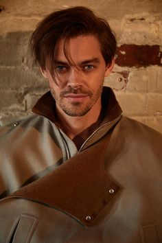 'The Walking Dead' star returns to television — clean-shaven this time — in the new show 'Prodigal Son. Paul Jesus Monroe, Tom Payne, Prodigal Son, Michael Sheen, Marilyn Monroe Photos, Famous Men, New Shows, Gorgeous Men, Beautiful People