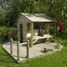 Maisonnette en bois Ciboulette