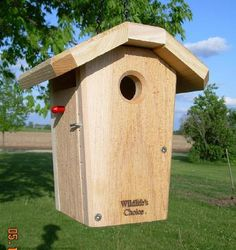 Hanging Chickadee / Wren Nestbox