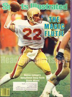 1984 Doug Flutie Boston College Sports Illustrated