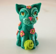 3rd project, Kitty Sculpture for April