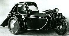 1929 BMW model R11 Sidecar Outfit