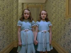 The Shining...one of my favorite movies & still SO creepy after all this time!