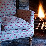 Cool! doxie print chair want!!