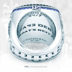 Twitter / Seahawks: Framed by 12 gemstones. Engraved ... Love the 12th man on the Ring here! GO SEAHAWKS!