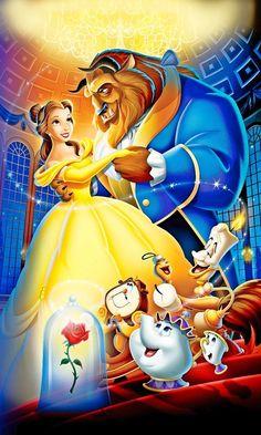 Disney Beauty And The Beast Cross Stitch Chart