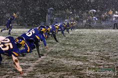 Football should be played in the snow