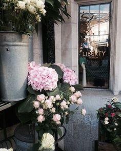 Can't get enough of @libertylondon flowers #liberty #libertylondon - Thanks to illustrated_dee via instagram.