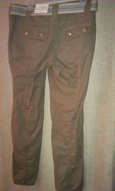 Women Kangaroo Belted Pants Size 8 by Natural Reflections. $22.99