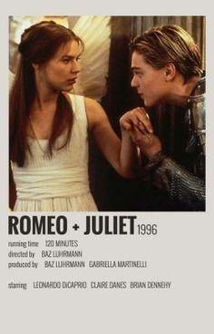 Romeo and Juliet Iconic Movie Posters, Minimal Movie Posters, Minimal Poster, Movie Poster Art, Iconic Movies, Poster Wall, Disney Movie Posters, Poster Layout, Film Movie