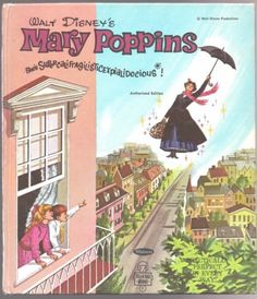 Vintage-Disney-Tell-A-Tale-Book-MARY-POPPINS