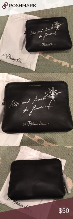 3.1 Phillip Lim 31 Nano Second pouch limited black New 3.1 Phillip Lim Bags Mini Bags