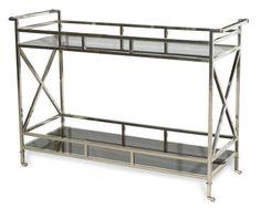 Vanguard Furniture: W722S-MP - Victor (Buffet) console tray bar cart