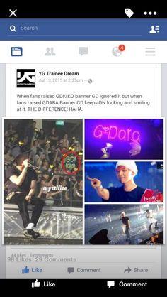 """ OMG too much feels. Gd Kiko, Bigbang Wallpapers, Yg Trainee, Big Bang Kpop, Sandara Park, Ji Yong, Park Photos, 2ne1, Im Trying"