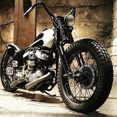 Harley Davidson custom softtail bobber #motorcycle #motorbike