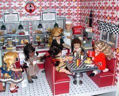 American girl diner inspiration