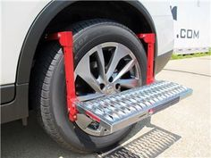Powerbuilt Tire Step Installed On Tire