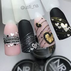 nail makeup and nail makeup nail art nailart nail makeup nail art designs brush nail designs airbrush makeup nail makeup makeup ideas Cute Acrylic Nails, Gel Nail Art, Nail Manicure, Gel Nails, Nagel Bling, Valentine Nail Art, Light Nails, Chrome Nails, Nagel Gel
