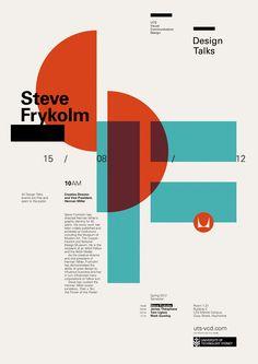 Design Talks #1: Steve Frykholm - UTS Visual Communication Design