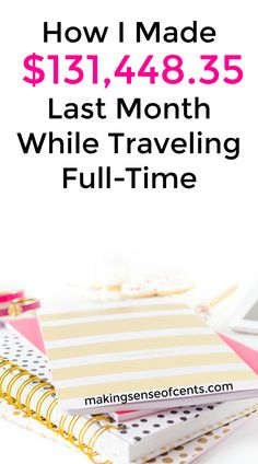 Here's how I made $131,448.35 in April of 2017 while traveling full-time. Making money blogging is something that has completely changed my life.