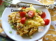 Everyday Insanity...: Sunshine Breakfast Casserole