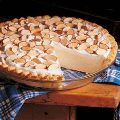"Maple Cream Pie Recipe. ""This was super yummy! A bit touchy, you have to follow directions exactly, but it was a good pie. I would make this again."" -Kylee"