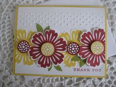 Stampin' Up! Mixed Bunch & Blossom Punch