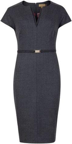 Neyoad Flannel Suit Dress