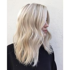 Best Blonde Hair Color 34 ❤ liked on Polyvore featuring beauty products, haircare and hair color
