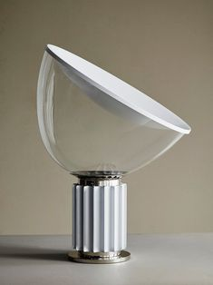 Flos Lamp, Small Lamps, White Table Lamp, Table Lamps, Lamp Design, Decoration, Lamp Light, Bulb, Lights